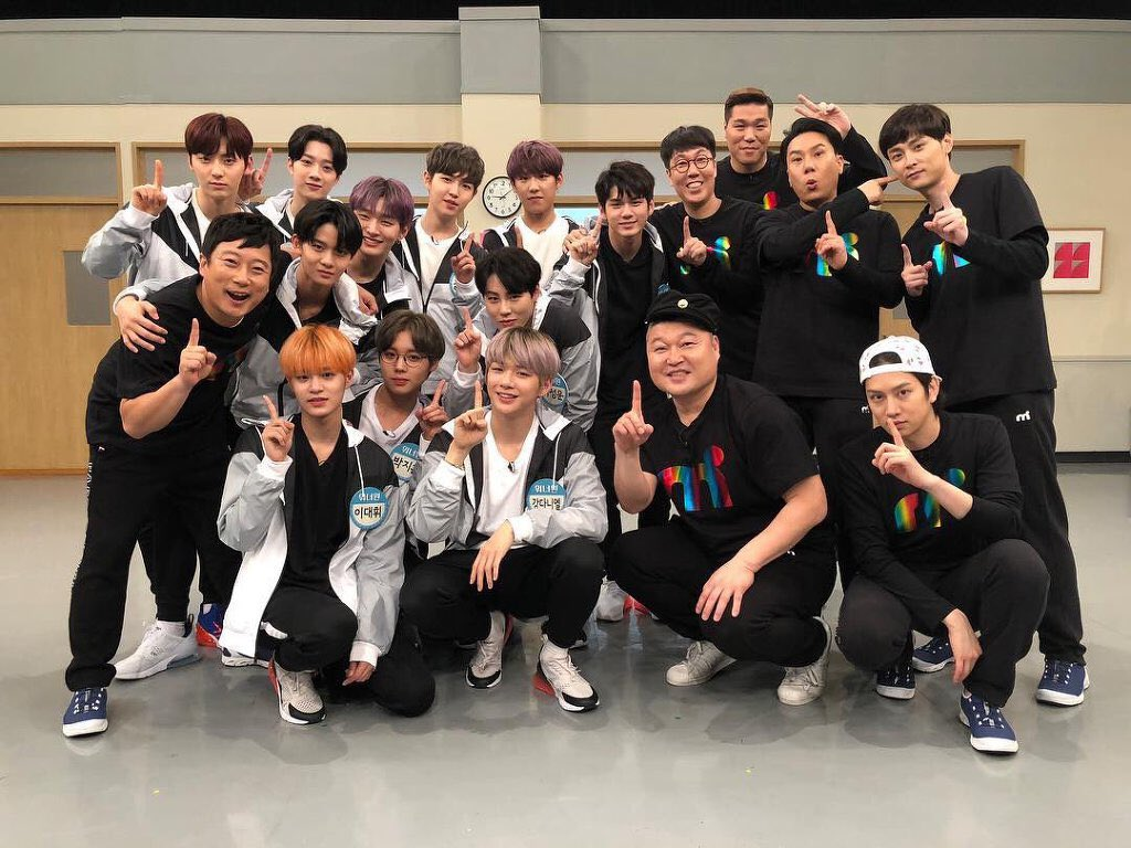 Wanna one subs on twitter eng sub 180407 knowing bros ep122 wanna one httpkshow123showknowing brotherepisode 122ml stopboris Image collections