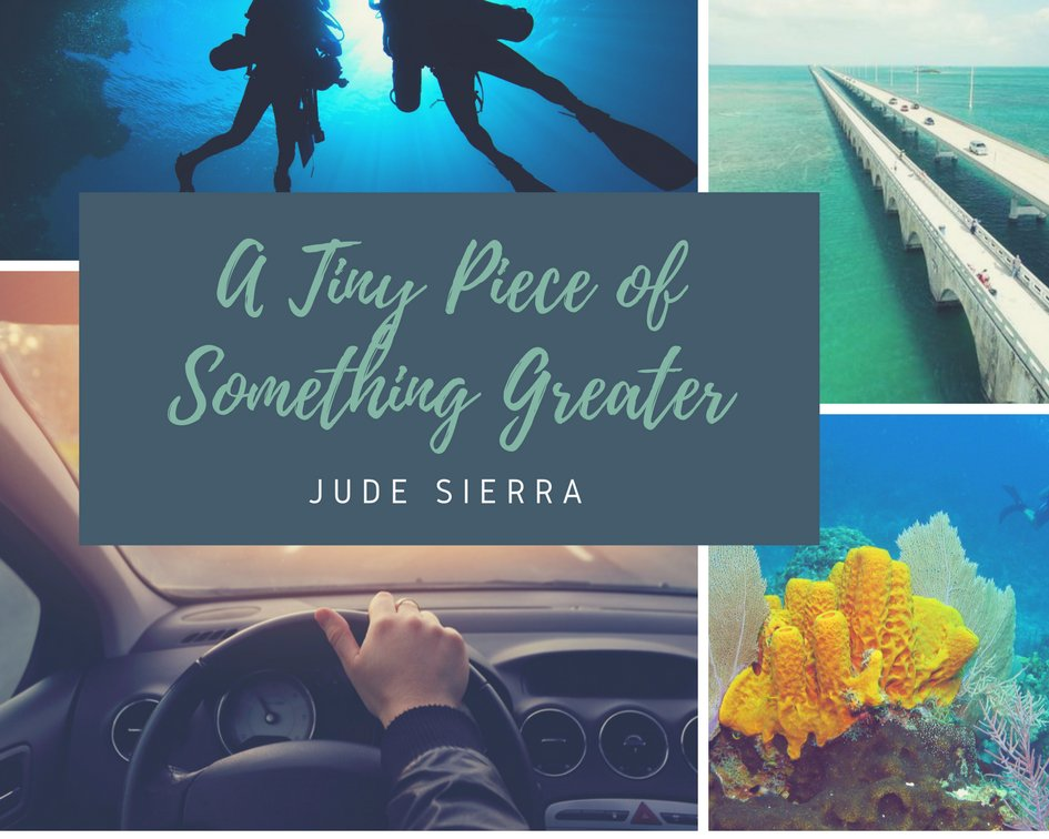 Image result for a tiny piece of something greater by jude sierra