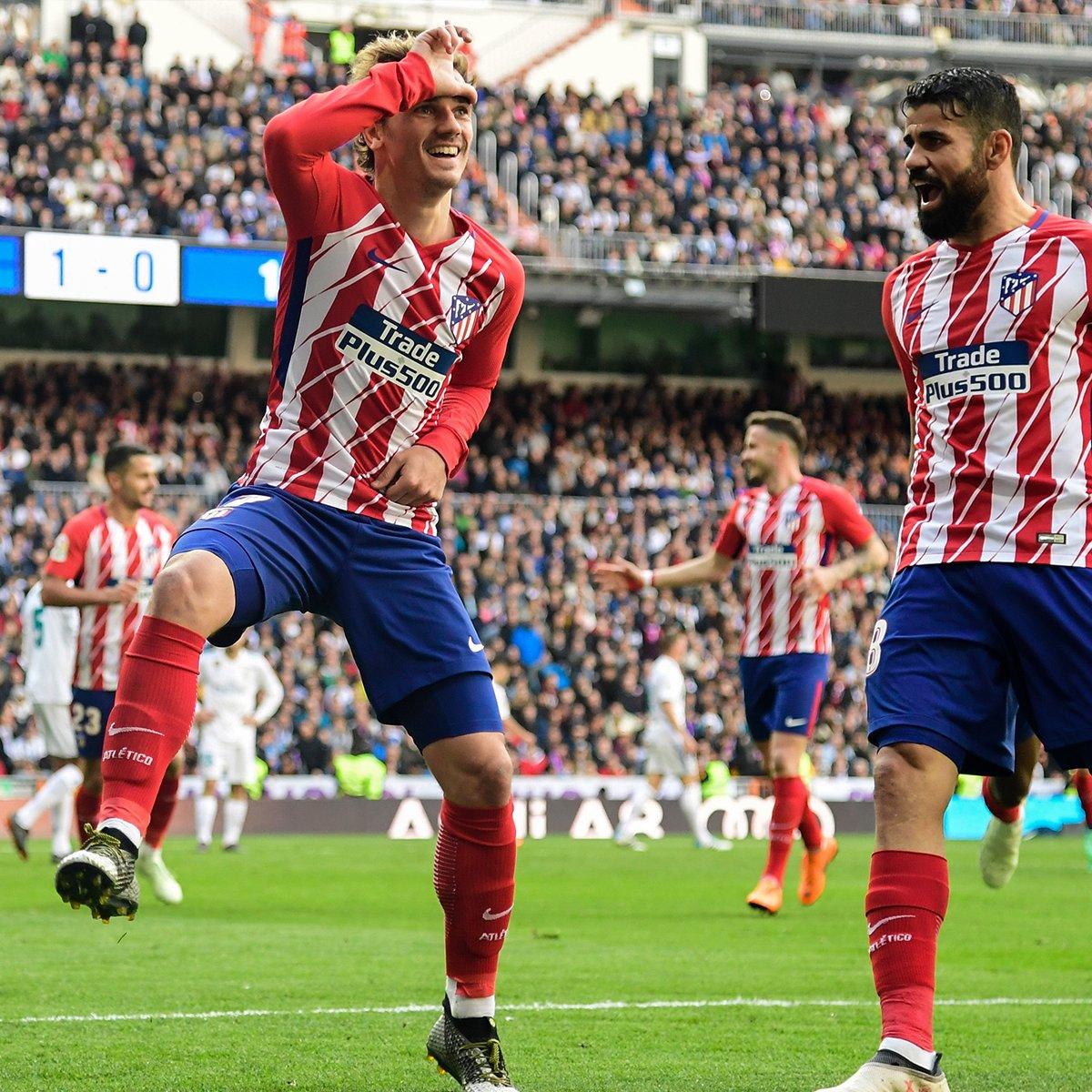 Real Madrid vs Atletico Madrid 1-1 Highlights