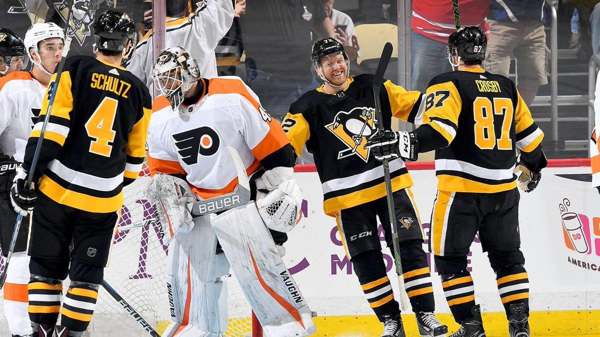 Bild tagen från Penguins Twitter sida.