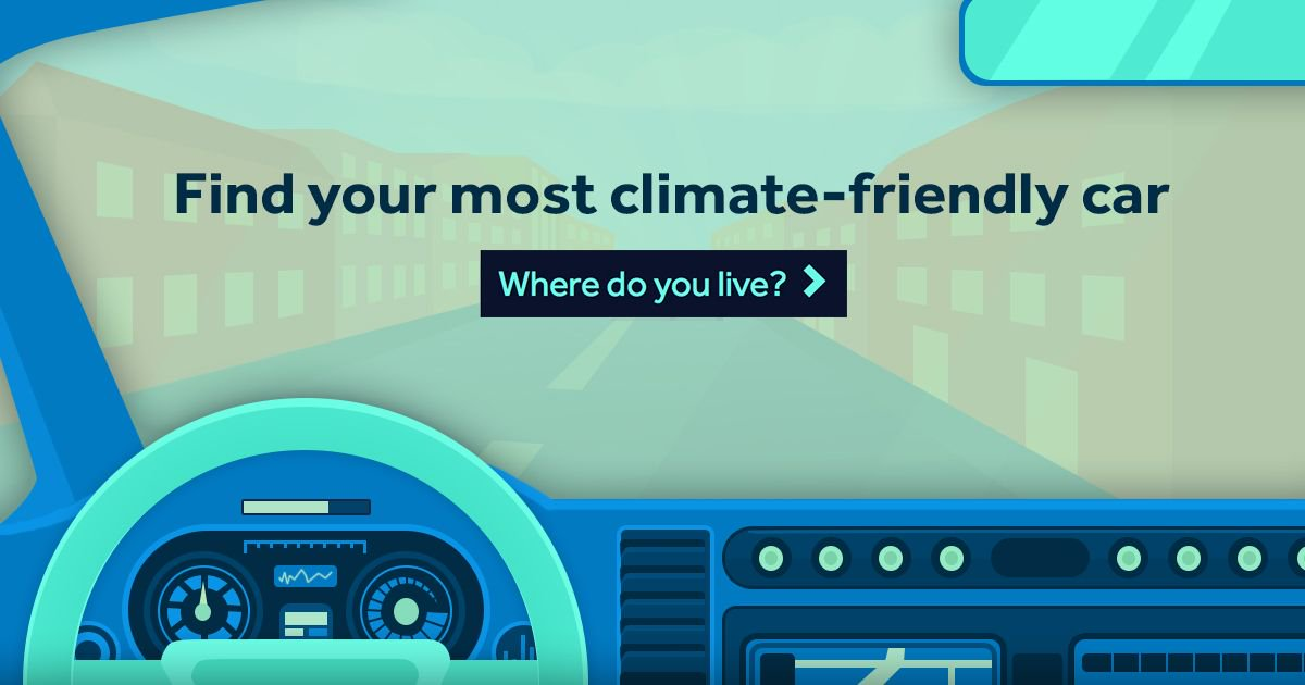 Find your next car with our climate-friendly car guide buff.ly/2ofU8EW