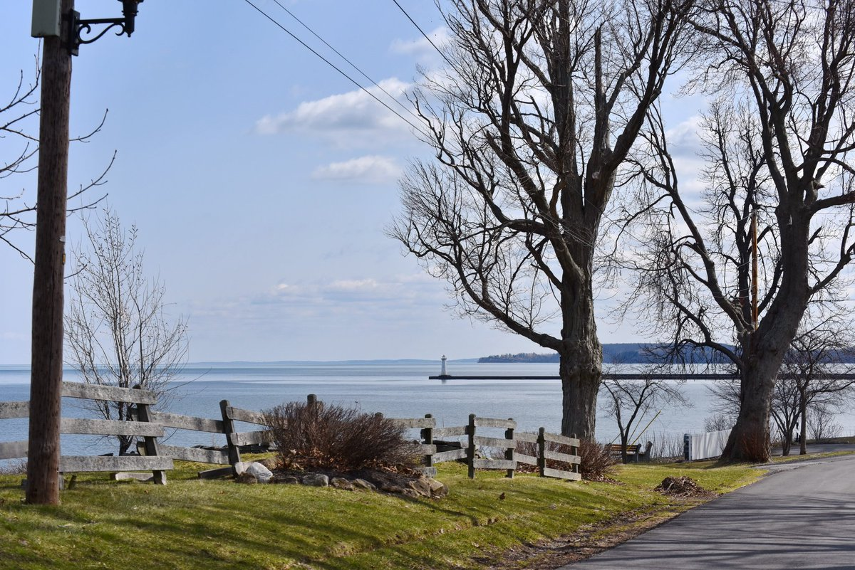 Looking like spring at Sodus Point (photo)