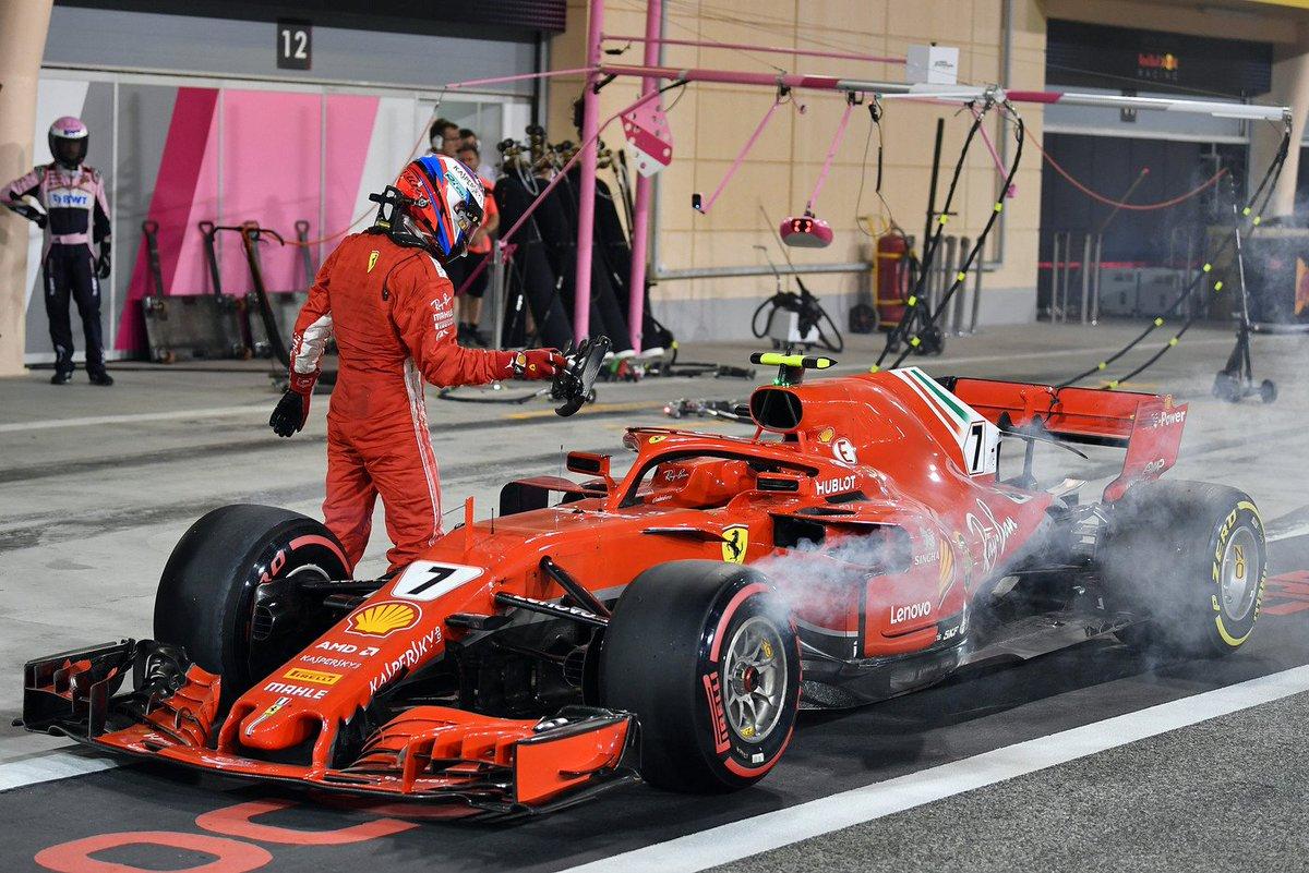 F1 2018 Bahrain GP - Race results