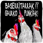 Image for the Tweet beginning: Aste huntan @muak_eus en, Punk