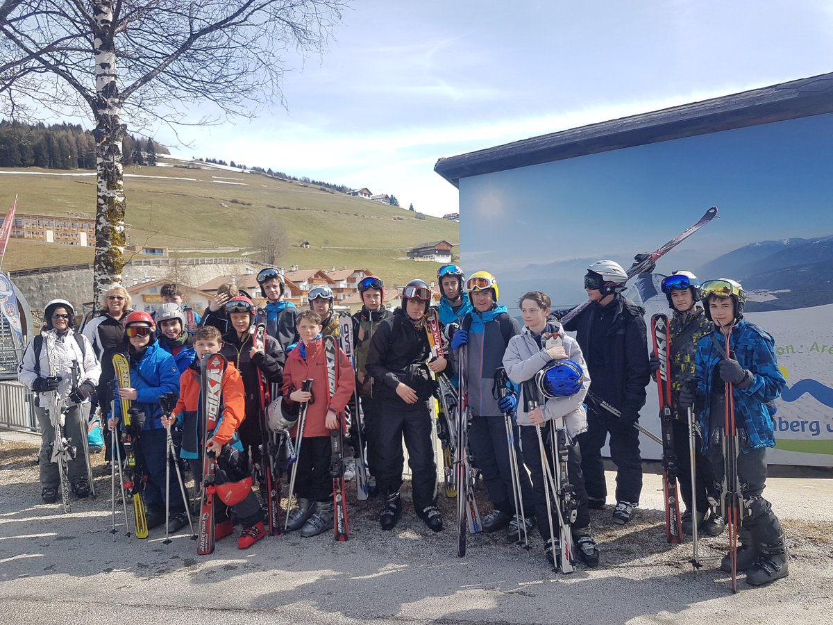 Team ski! Now home safe and sound. #LshsEnrichment