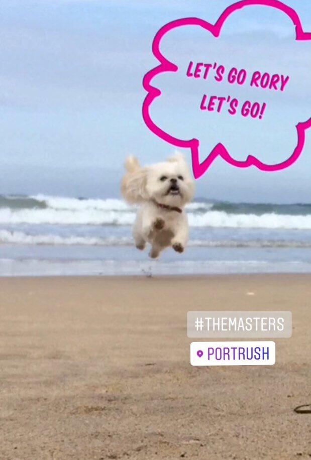 #themasters2018 ...c'mon Rory!! #golf #portrush