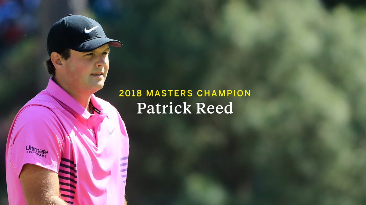 Masters Tournament (@TheMasters) on Twitter photo 2018-04-08 22:38:33