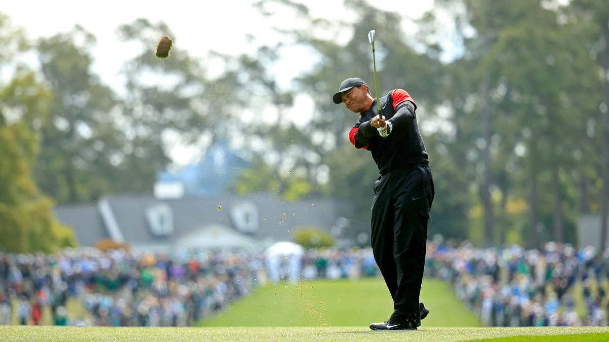 Watch @TigerWoods final round in under three minutes. #themasters