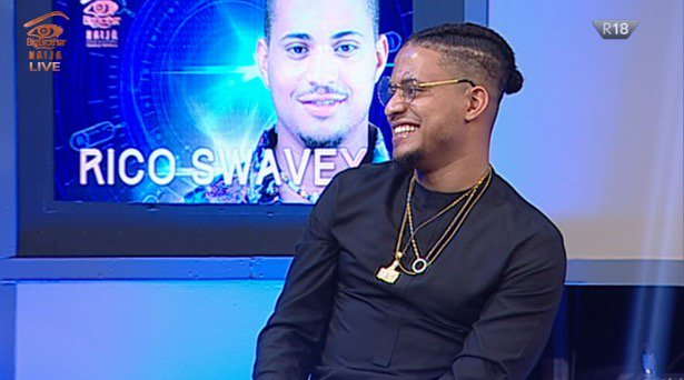 #BBNaija 2018 week 10 eviction; Rico Svawey evicted from the Big brother Naija house how Nigeria voted