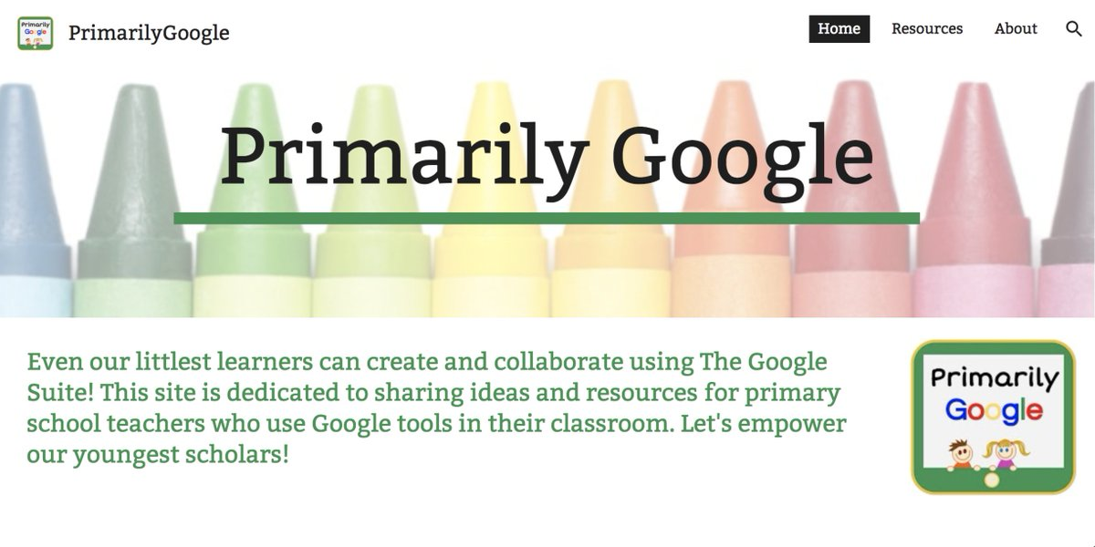 What can our littlest learners create with the fabulous tools offered by Google? Check out the freshly updated http://PrimarilyGoogle.Rocks for ideas and resources for using #GSuiteEDU in the primary grades. #K2CanToo #EdTechTeam #kinderchat #1stchat #2ndchat #cvcue #WeAreCUE