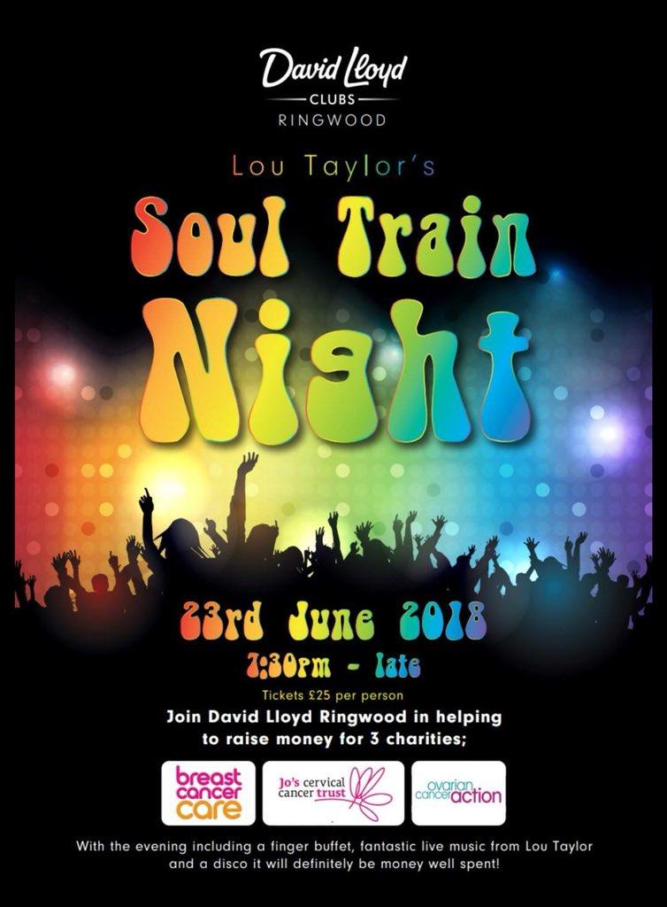David Lloyd Ringwood >> David Lloyd Ringwood On Twitter Soul Train Night