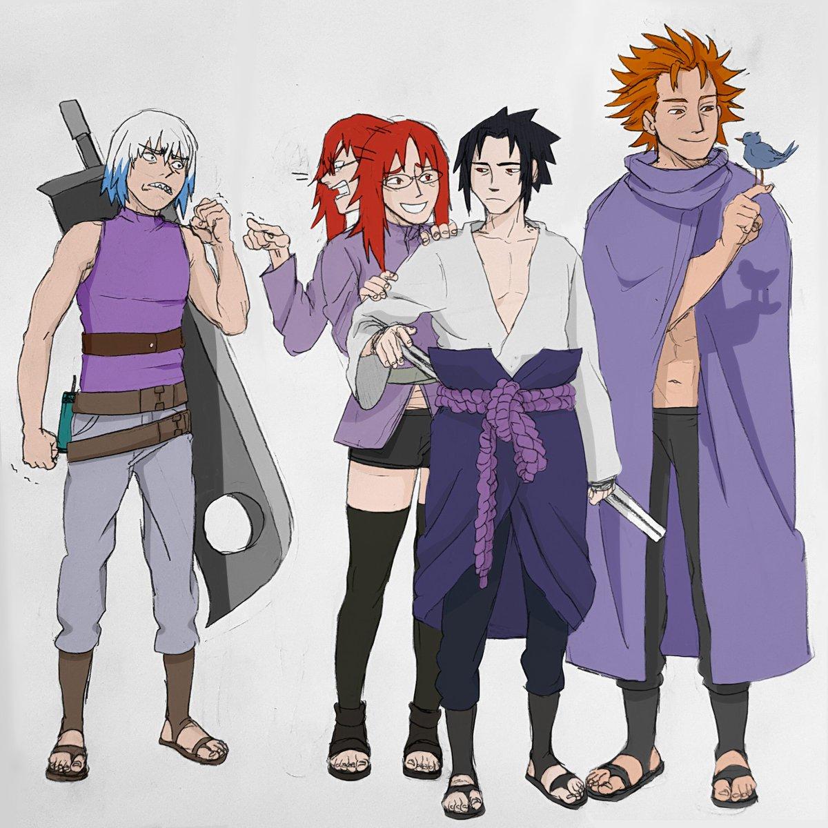 Team Taka! #naruto
