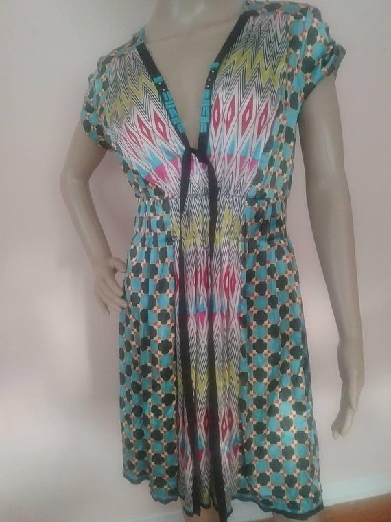 a6e4f04b17d84 Sale price $14.40 A Common Thread Dress Size M Anthropologie Excellent  Condition #pinkpussykatvintage #acommonthread #Anthropologie  #Anthropologiedress ...