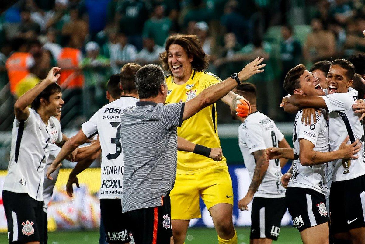 Que momento!  #BicampeãoDaFé  Foto: Rodrigo Gazzanel/Agência Corinthians