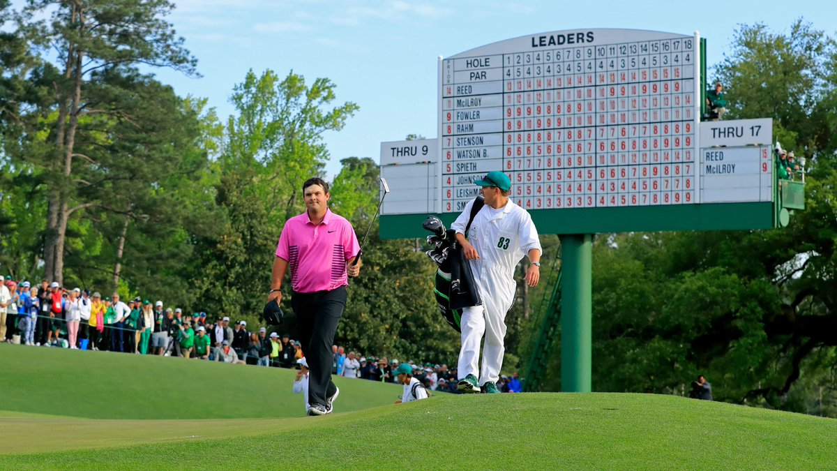 Watch 2018 Masters champion @PReedGolfs final round in under three minutes. #themasters