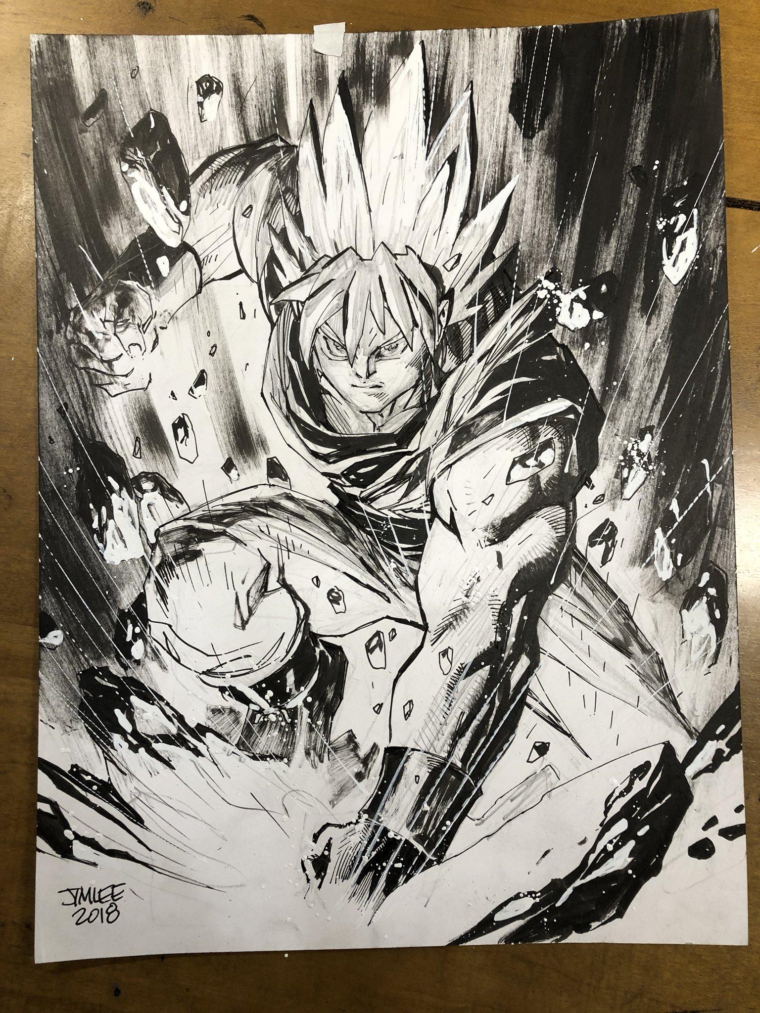 jim lee dc comics artist editor draws son gokuu kanzenshuu
