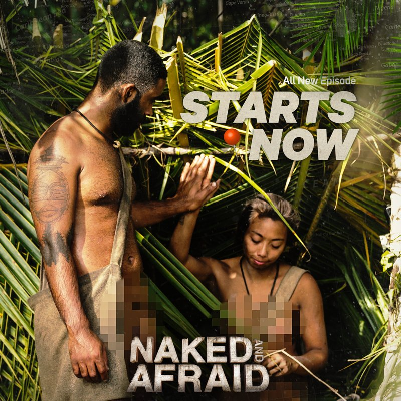 Naked and afraid without censure-4982