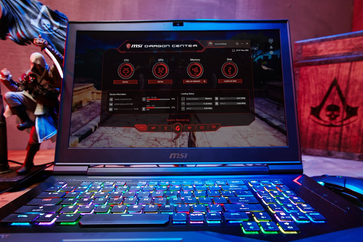 Msi Dragon Center Gt62vr High End Gaming Notebook With Gtx 1060 Gt72s 6qf Dominator Pro G Laptop Edition On Twitter Optimized For Experience