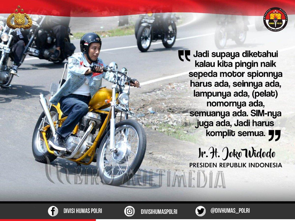 Helm Keren Jokowi Belum Ada SNI !