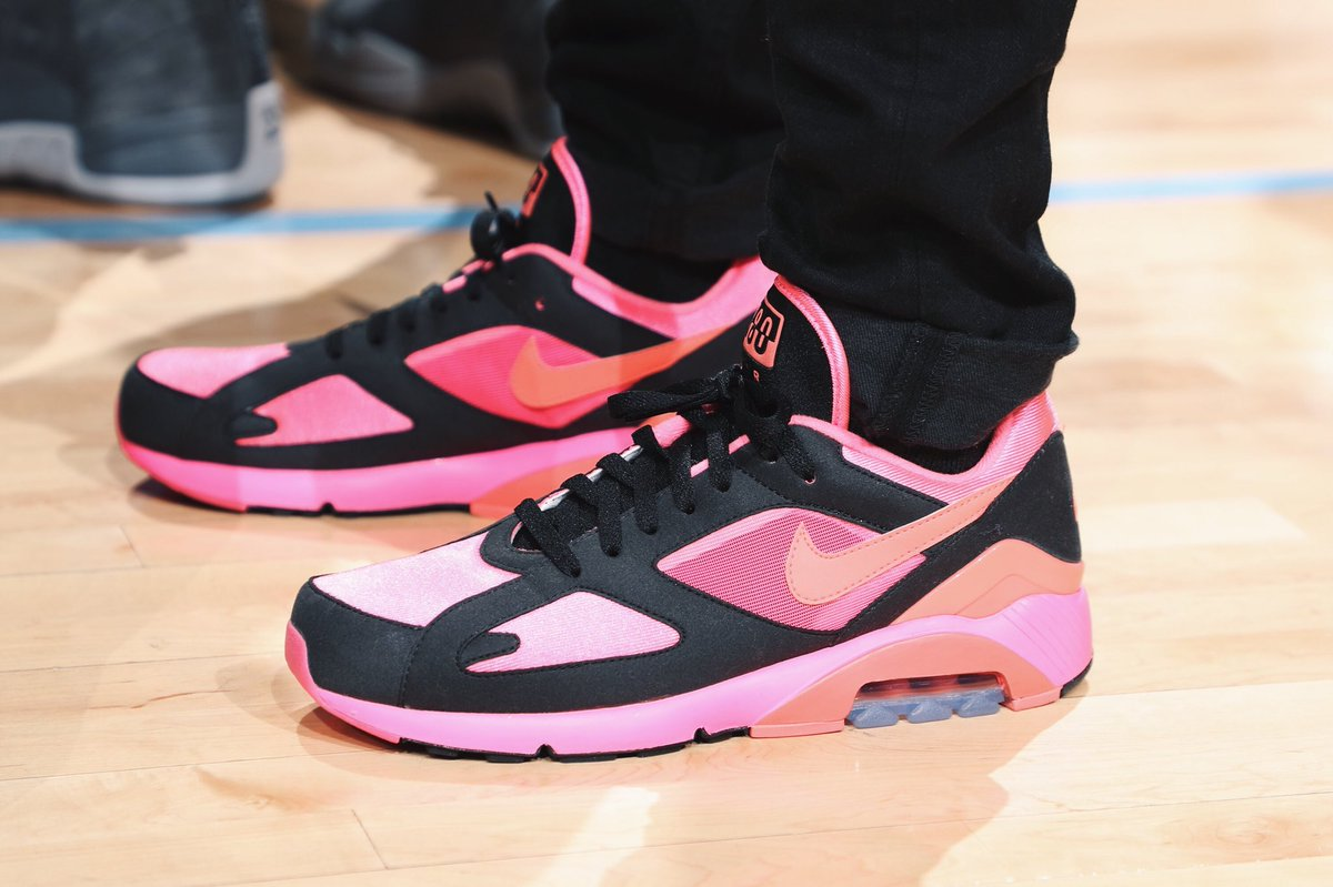 5fe4935830 mike conley with the comme des garcons nike air max 180 one of the best  releases