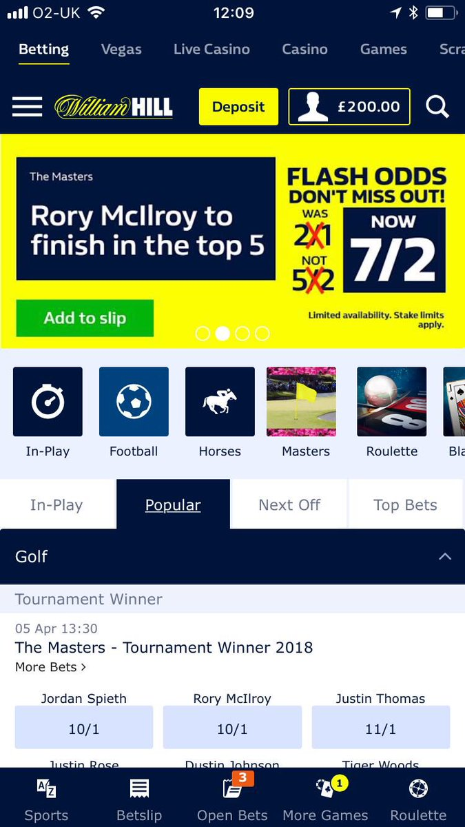 William hill golf dead heat rules in betting how to mine bitcoins faster pussycat