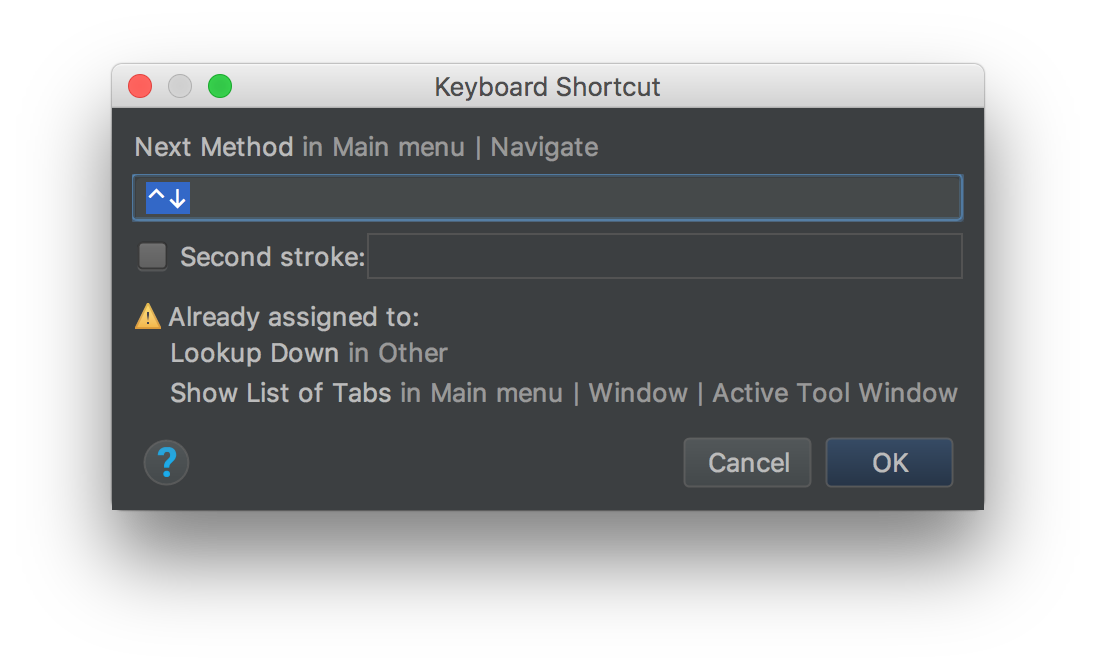 @Louis_CAD @_NezSpencer @n8ebel Looks like the same shortcut is assigned to a bunch of other things (including an OS shortcut that shows all windows of the active app). So @_NezSpencer, looks like youll need to change the shortcut if you want to use it. Its called Next Method (Whod think!? 🤯)