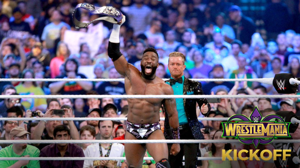 The HEART and SOUL of #205Live collided as @CedricAlexander  and @MustafaAliWWE fought to become the NEW #Cruiserweight Champion on #WrestleMania #Kickoff! PHOTOS: wwe.me/ZBnSVI