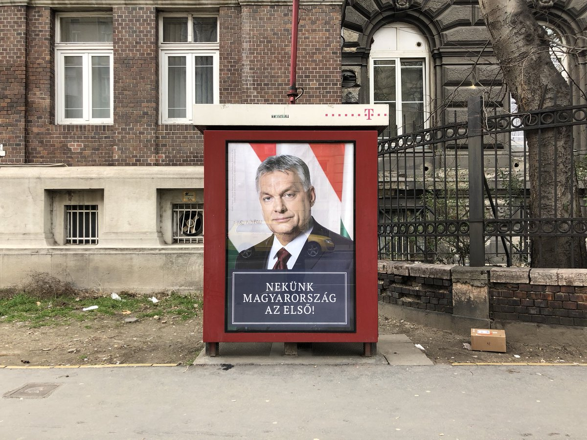 What would happen if a far-right leader cemented power in a western state? In Viktor Orban's Hungary, it's already happened. Read my series on how he 1—Targeted the state https://t.co/9WgTd19IVE 2—Targeted society https://t.co/QE7PnT9JBu 3—Got here himself https://t.co/9wDudvxRbn