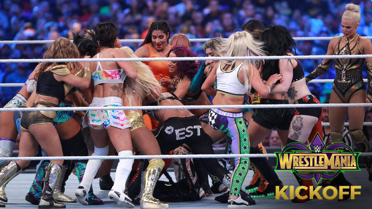 History was made as the first-ever #WrestleMania Womens #BattleRoyal winner was crowned! PHOTOS: wwe.me/UOxXkB