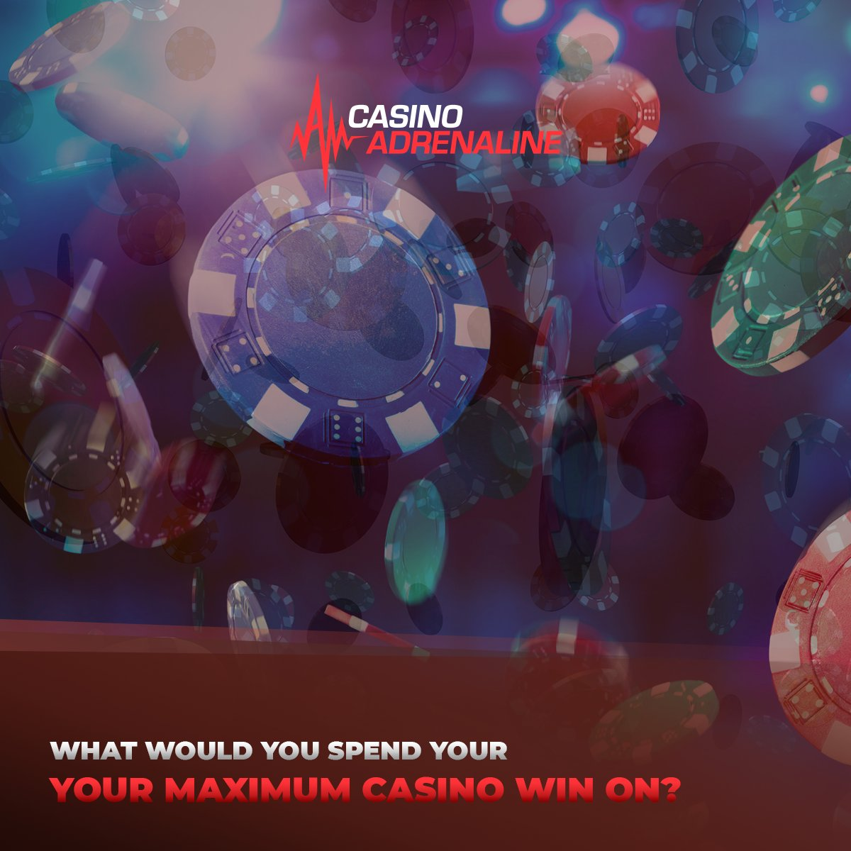 test Twitter Media - What would you spend your maximum casino win on? 🤔😁🤑 #CasinoAdrenaline #CasinoAdrenalingaming #casinos #slot #casinoluck #enjoythegame #TotalJackpot https://t.co/yQAGJpMepB