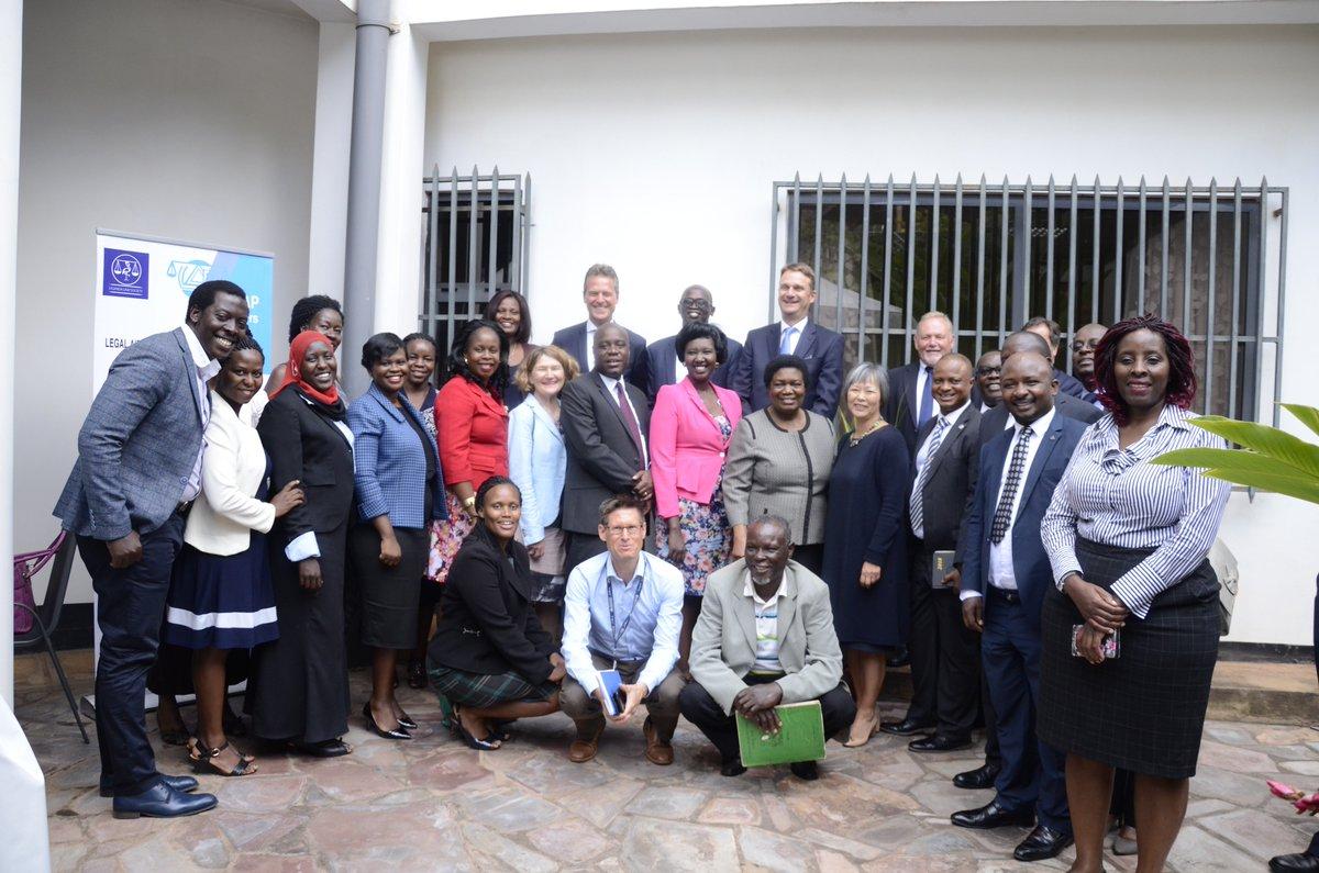Uganda Law Society's tweet -