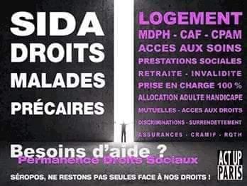 Act Up Paris On Twitter Logement Caf Cpam Acces Aux Soins