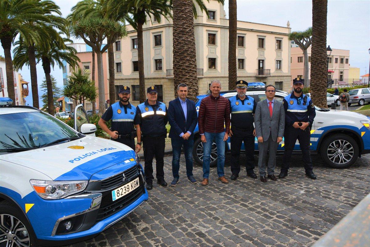Resultado de imagen de La Policía Local de La Orotava