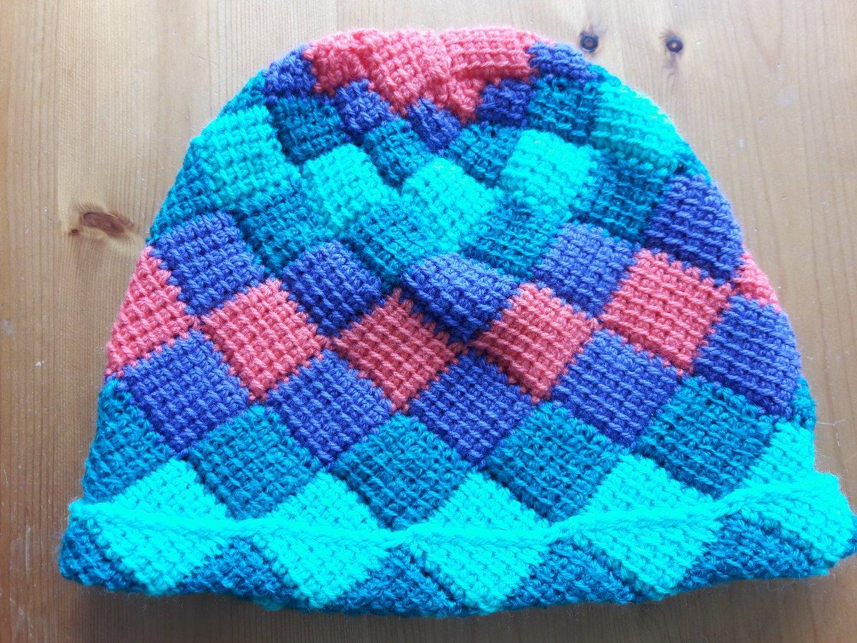 Sandra Temarinl On Twitter Klaar Entrelac Haken Crochet