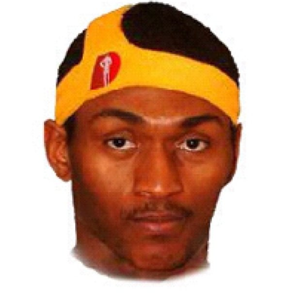JaValeMcGee rattail headband   Ron Artest D-Band https   t.co VlHJWzDCSW…