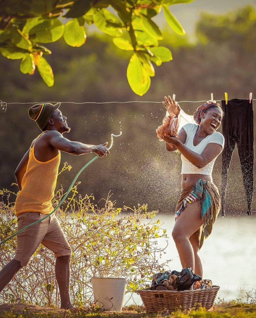 """I AM A JAMAICAN on Twitter: """"A Love Story by 🇯🇲 Lexon Art ..."""