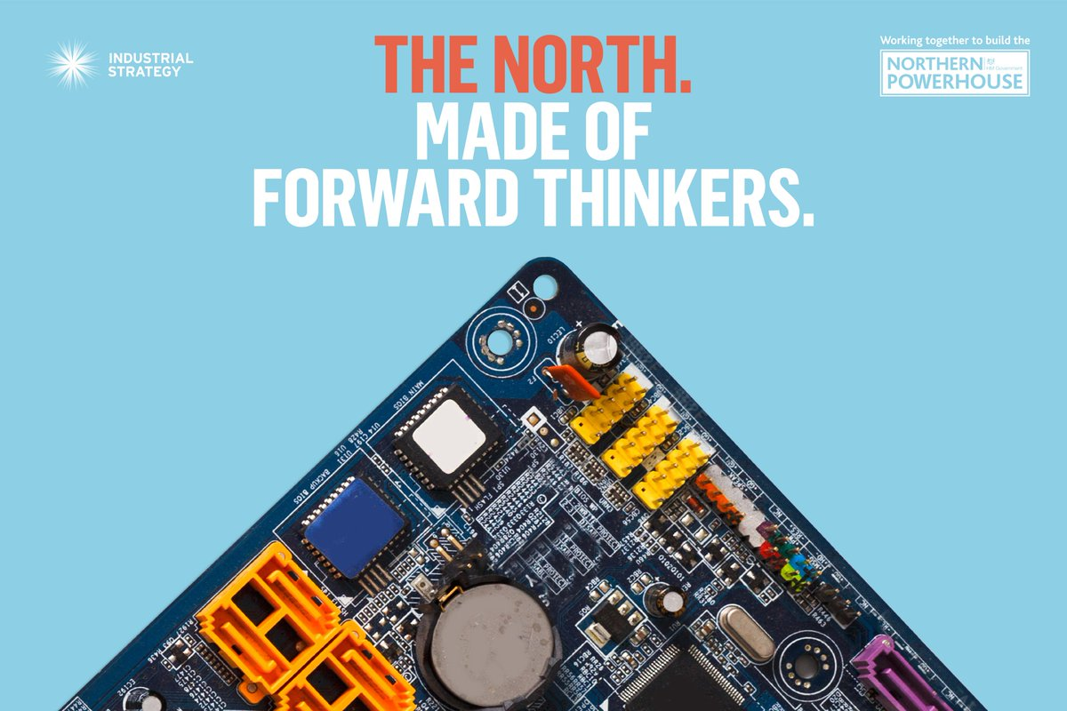 Generating 19% of UK GDP, #NorthernPowerhouse includes Leeds, Liverpool, Manchester, Newcastle &amp; Sheffield &amp; is the birthplace of: Industrial revolution World's first inter-city railway Splitting of the atom 1st isolation of graphene #InvestInGREAT #InnovativeNorth <br>http://pic.twitter.com/mGVWUWRjT8