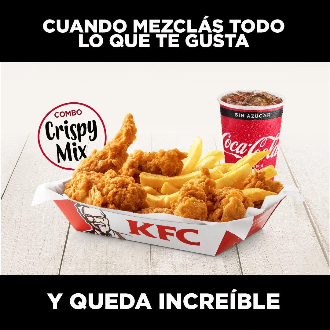 Kfc Argentina On Twitter Alitas Popcorn Papas Y Gaseosa