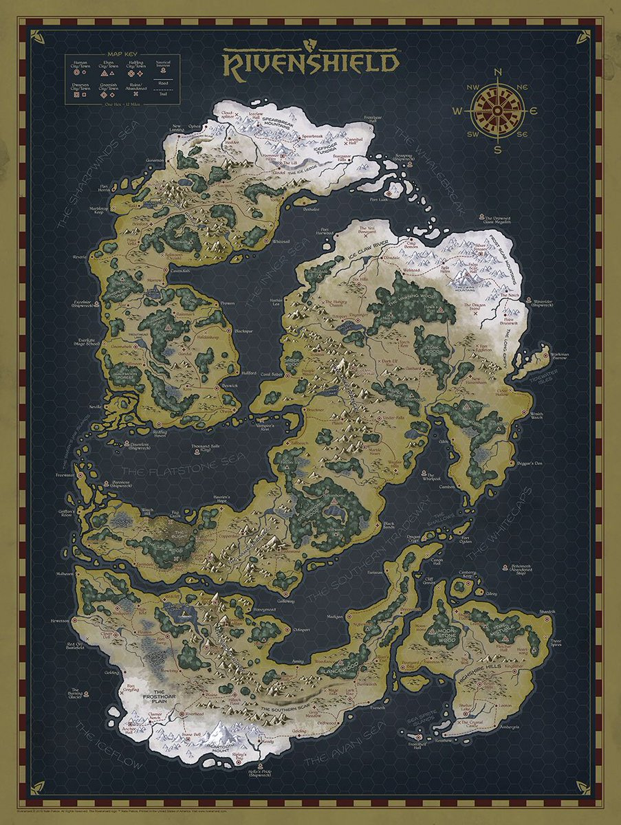 are now on sale httpsbuffly2ewonbw limited to 150 prints these 18x24 fantasy rpg maps are professionally printed on heavyweight 12 stock