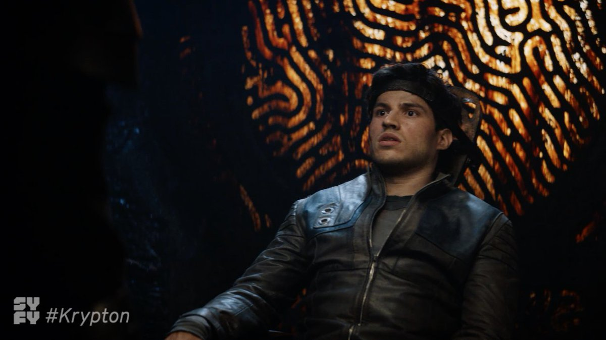 If #Brainiac doesn't destroy the planet, the Houses will tear each other apart.   The saga continues on an all new #Krypton, Wednesday at 10/9c on @SYFY.