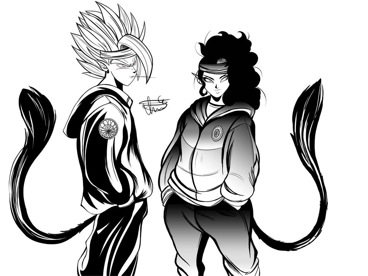 Slight reference from nanidrive with gamma artist drawing dbsuper dbz dragonball originalcharacter animepic twitter com 8rnj3mmyq2