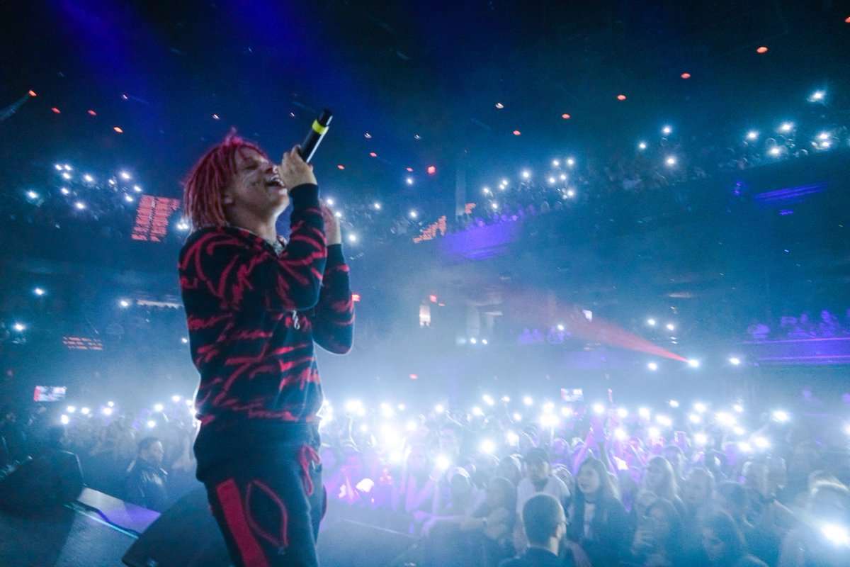 Best fans in the World 😈💜 shop.trippieredd.com