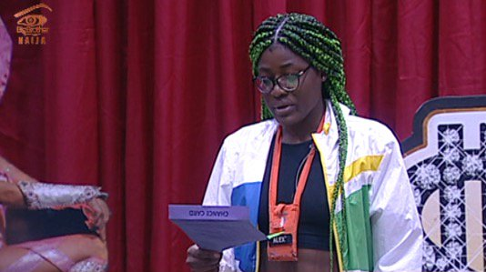 #BBNaija 2018 Week 11 UPDATE; Alex becomes Head of House as Lolu,Cee-C,Anto,Khloe and Miracle face eviction..