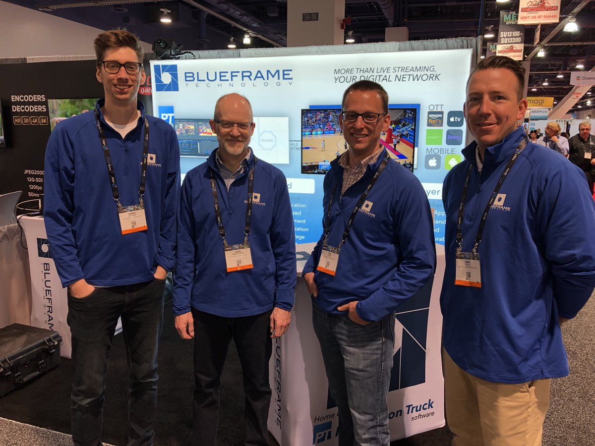 BlueFrame at NAB Show 2018