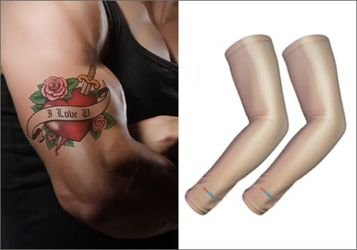 Uvoider On Twitter Sun Protect Tattoos With Uv Arm Sleeves Tips
