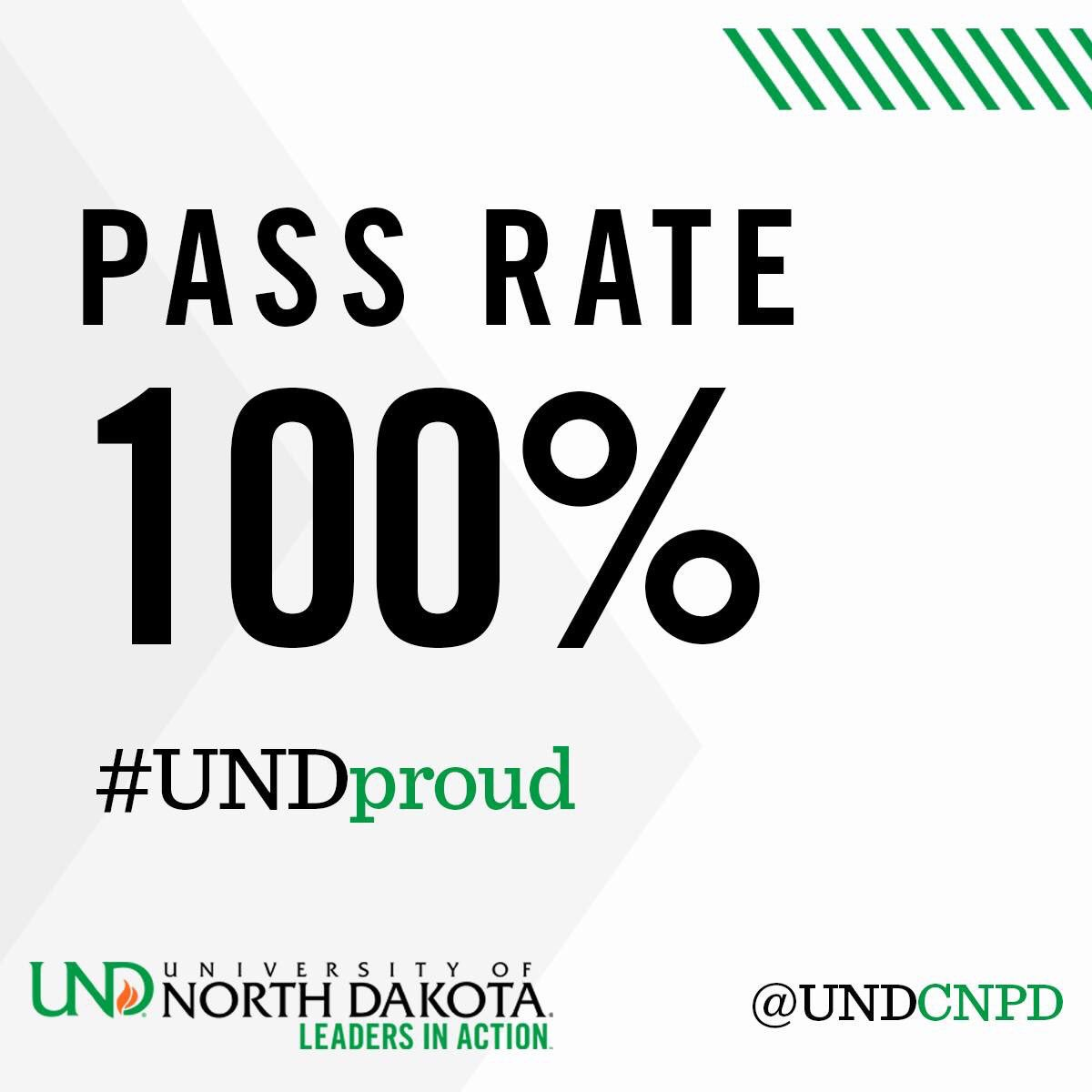 Und cnpd undcnpd twitter our 2017 psychiatric mental health nurse practitioner graduates achieved a 100 first time pass rate on the ancc national certification examination 1betcityfo Images