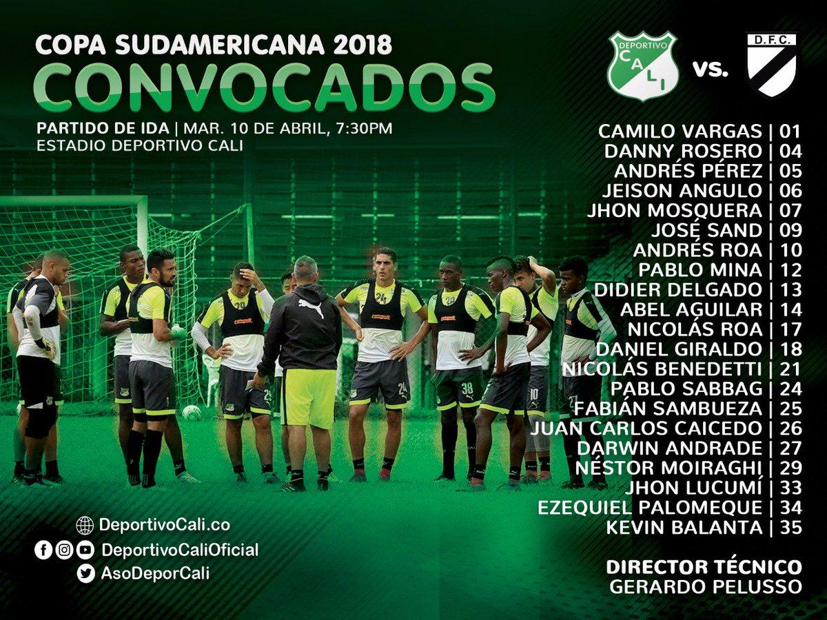 Cali inició con goleada su participación en la Copa Sudamericana