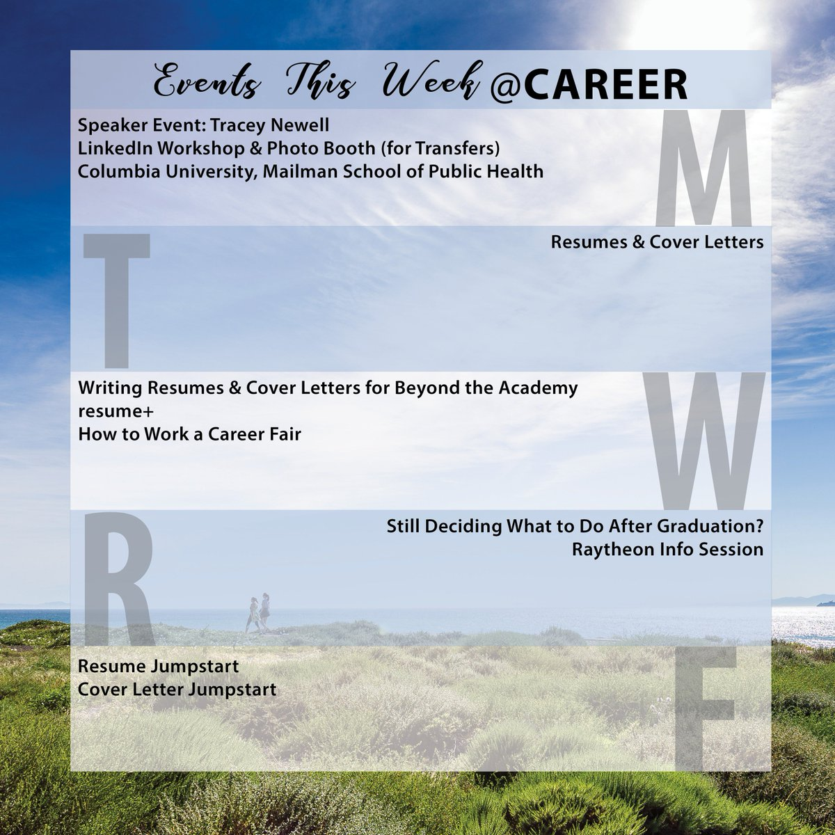 Ucsb Calendar.Ucsb Career Services On Twitter Welcome To Week 2 Here At Career