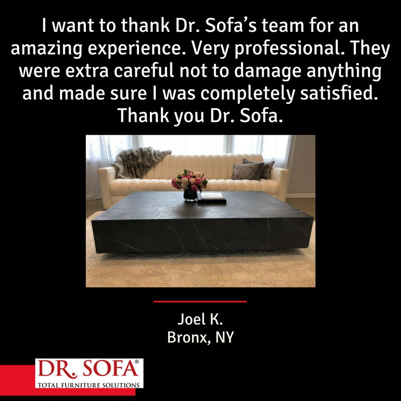 Dr Sofa в Twitter Thank You So Much For The Kind Words Joel It Was Our Pleasure To Ist Customerfeedback Ravereview Customerservice