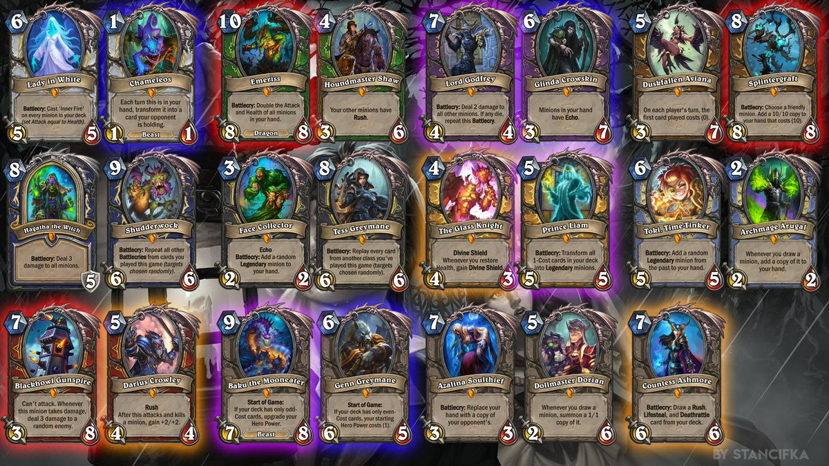 how to make a good starting deck in hearthstone